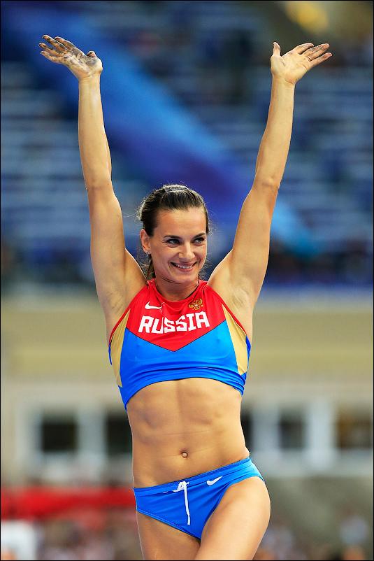 Елена Исинбаева успешно выступила в квалификации