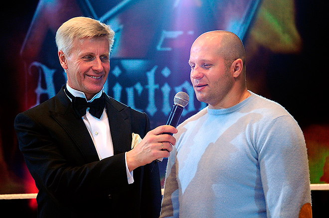 Александр Загорский с Фёдором Емельяненко