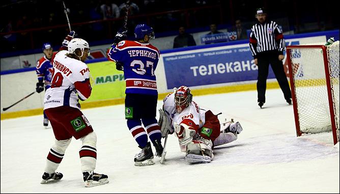 26.10.2010. Сибирь - Локомотив - 5:4 ПБ. Фото 03.