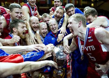 Мужская сборная России — чемпион Европы 2013 года