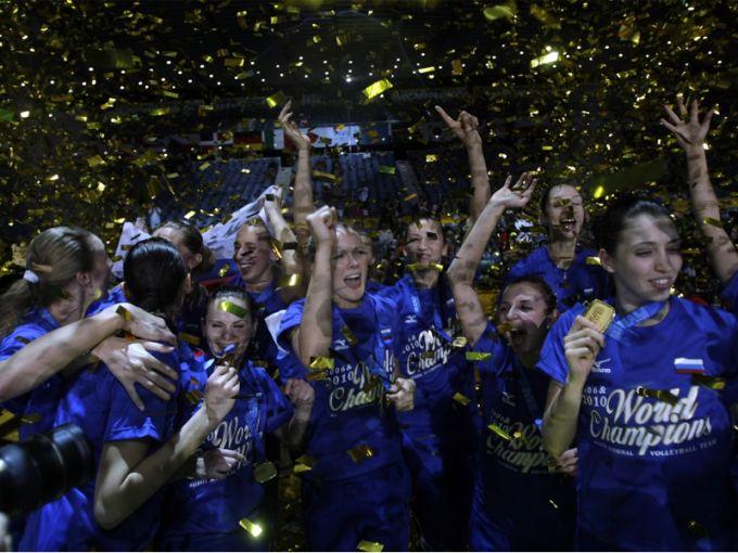 Женская сборная России – чемпион мира-2010