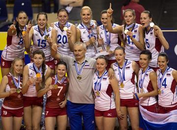 Женская сборная России — чемпион Европы 2013 года