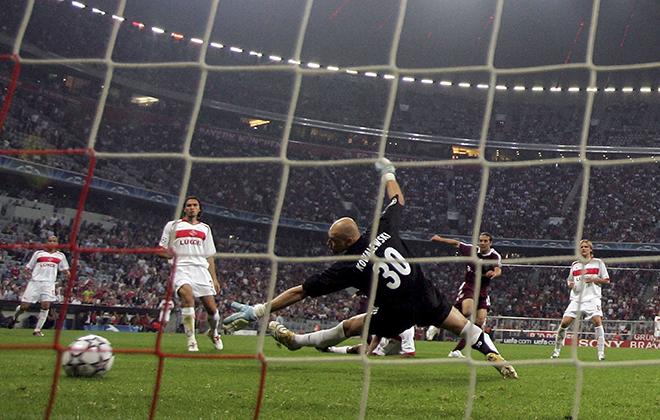 2006-й год. «Бавария» (Мюнхен, Германия) — «Спартак» — 4:0