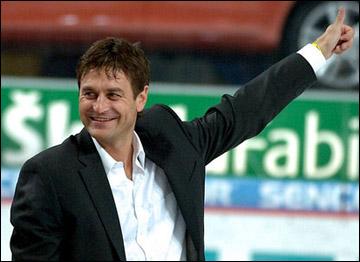 Петр Бржиза — почетный гость на чешском этапе Еврохоккейтура