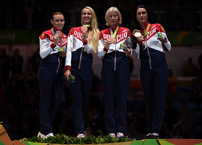 Олимпиада-2016. Фехтование