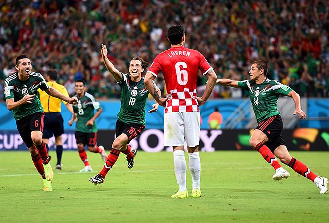 Мексика выходит в плей-офф чемпионатов мира уже шестой раз подряд!