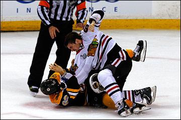"""18 июня 2013 года. Бостон. Плей-офф НХЛ. Финал. Матч № 3. """"Бостон"""" — """"Чикаго"""" — 2:0. Шоу против Маршана"""