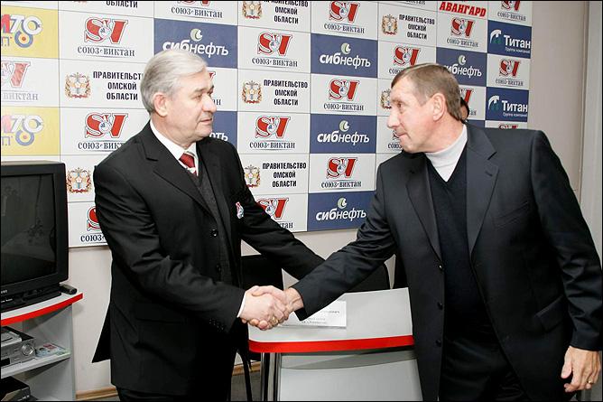 Валерий Белоусов и Владимир Юрзинов