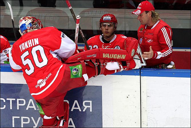 Шайба Штефана Ружечки (№ 14) стала рекордной для иностранцев в КХЛ – 66-й