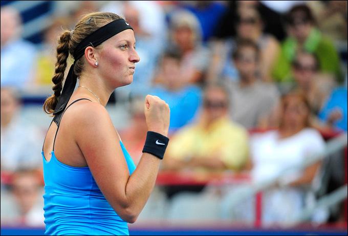 Петра Квитова вышла в свой первый финал в текущем сезоне