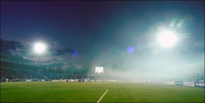 """Вкусный дым над стадионом """"Олимп"""""""