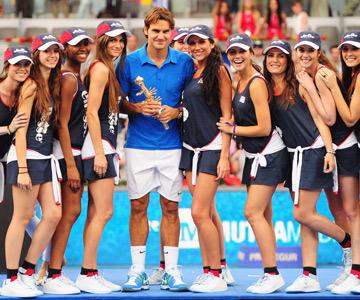 Роджер Федерер в прошлом году победил на турнире Mutua Madrid Open