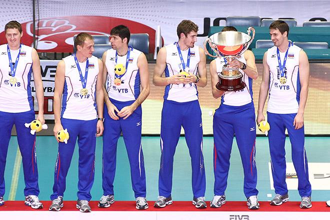 Сборная России в 2011 выиграла Кубок мира