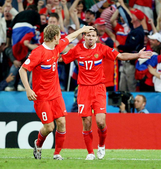 Форма сборной России на Евро-2008