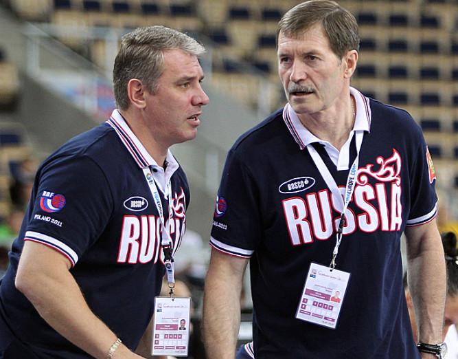 Борис Соколовский (справа) и Александр Ковалёв