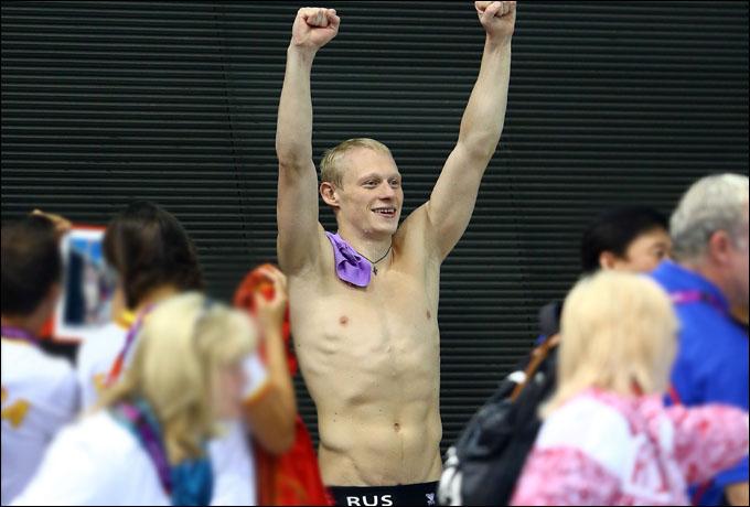 Наш чемпион! Илья Захаров после исполнения победного прыжка