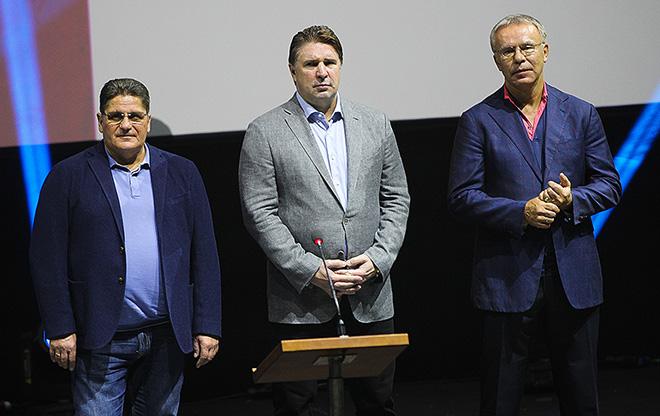 Сергей Макаров, Алексей Касатонов и Вячеслав Фетисов во Владивостоке