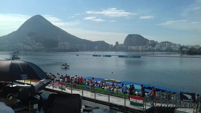 Гребной канал в Рио-де-Жанейро