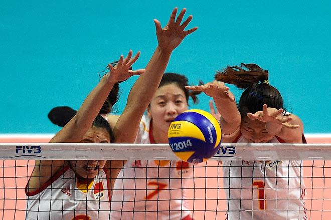 Волейбол. Чемпионат мира. Женщины. Финал. Китай — США — 1:3. Китаянки сражались отчаянно