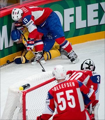 Сборная Норвегии проповедует жёсткий хоккей. Очень жёсткий…