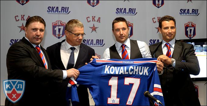 Слева направо: Алексей Касатонов, Александр Медведев, Илья Ковальчук и Роман Ротенберг