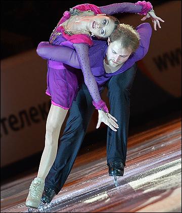 Вера Базарова и Юрий Ларионов на кураже выиграли соревнования в парах