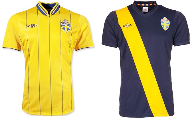 Форма сборной Швеции