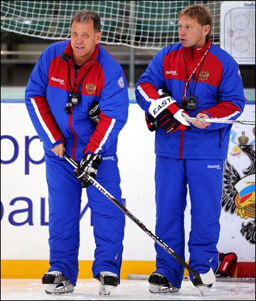 Евгений Корешков (справа) и Михаил Варнаков