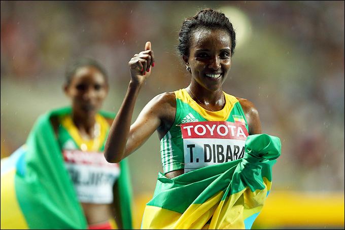 Тирунеш Дибаба впервые с 2007 года победила на чемпионате мира