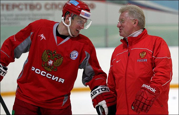 Владимир Мышкин (справа) и Алексей Терещенко