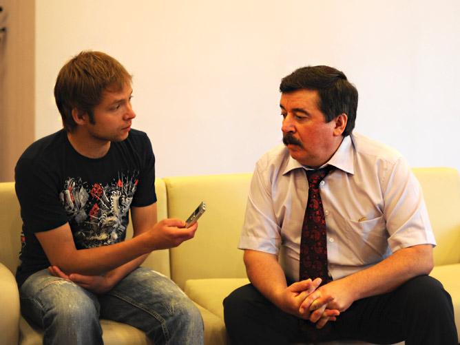 Артём Загумённов и Сергей Шахрай. Russian Open-2011 и его итоги