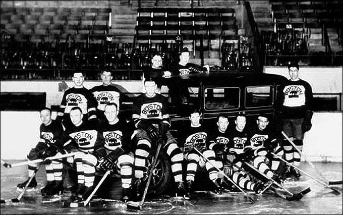 """""""Бостон Брюинз"""" в сезоне 1928/29"""