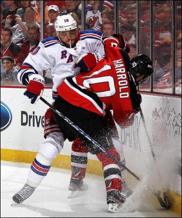 """22 мая 2012 года. Нью-Арк. Плей-офф НХЛ. Финал Восточной конференции. """"Нью-Джерси Дэвилз"""" — """"Нью-Йорк Рейнджерс"""" — 4:1"""