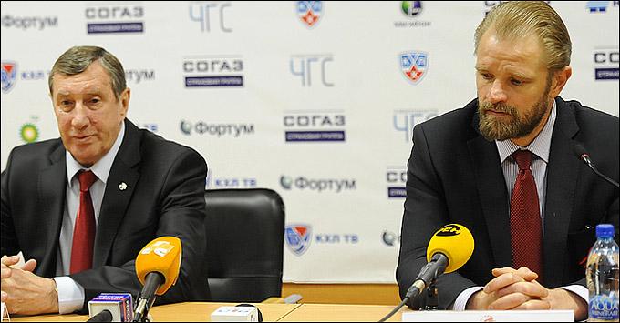 Валерий Белоусов и Петри Матикайнен