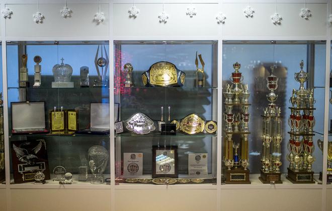 Награды Фёдора Емельяненко во Дворце спорта имени Александра Невского