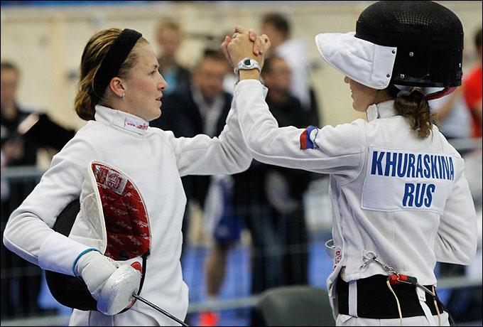 Екатерина Хураськина и Евдокия Гречишникова собираются оправдать доверие своего тренера