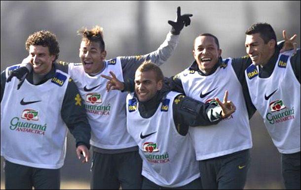 Пока аргентинцы буксуют, бразильцы пребывают в приподнятом настроении