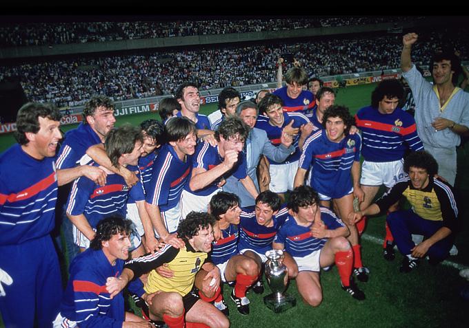Сборная Франции — чемпион Европы 1984 года