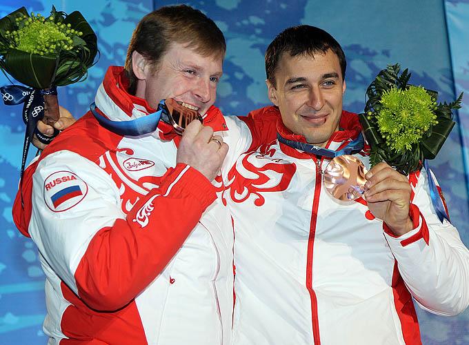 Олимпийская бронза Зубкова и Воеводы