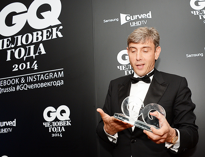 Сергей Галицкий на вручении премии «Человек года»