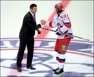 Виктор Тихонов и Илья Ковальчук