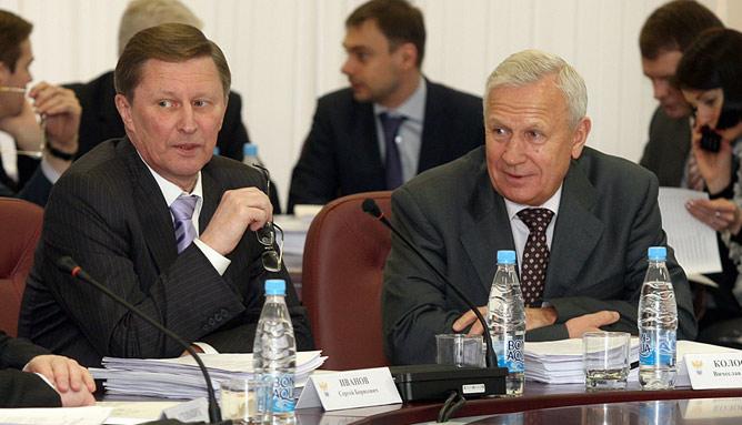 Сергей Иванов и Вячеслав Колосков.