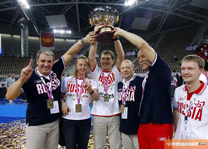 Женская сборная России – чемпион Европы по баскетболу 2011 года
