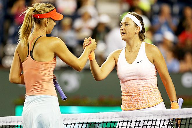 Азаренко проиграла Шараповой в третьем раунде