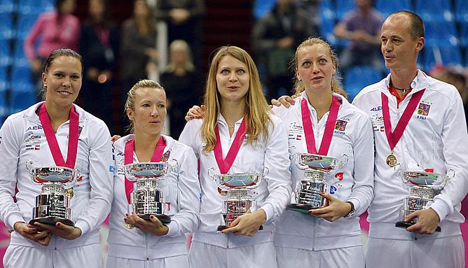 Сборная Чехии — победитель Кубка Федерации