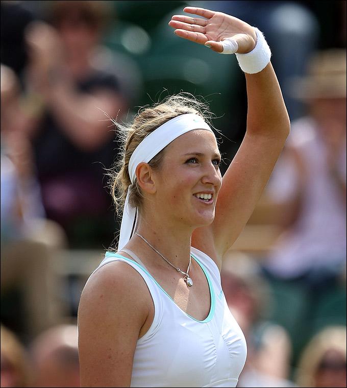Виктория Азаренко уверенно вышла в 4-й круг.