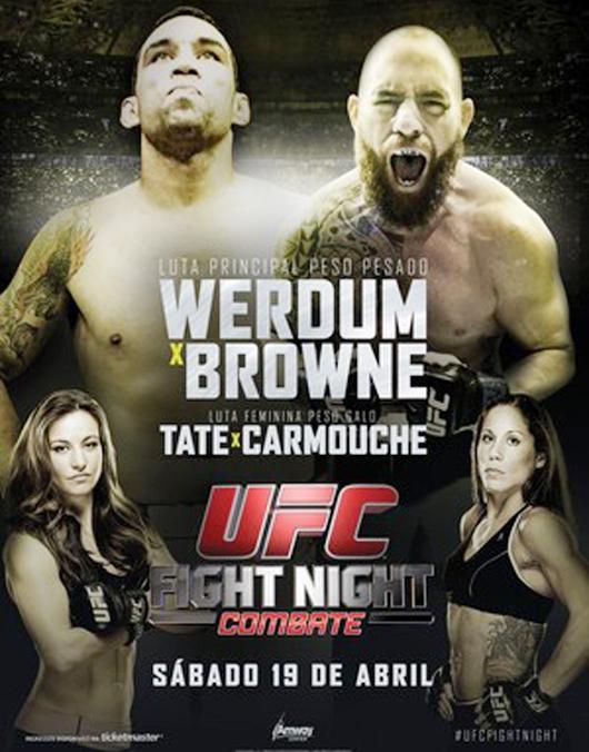 Постер к турниру UFC on FOX 11