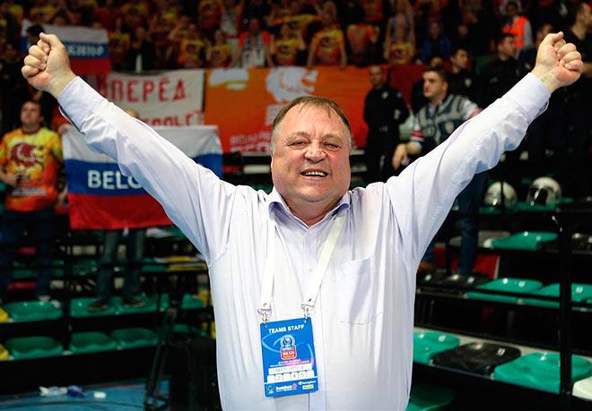 Геннадий Шипулин после победы «Белогоря» в Лиге чемпионов