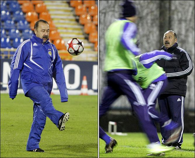 """И. Рабинер. """"Секреты футбольных маэстро"""". Газзаев. Фото 09."""