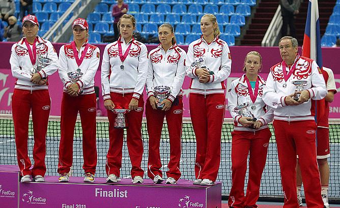 Сборная России — финалист Кубка Федерации